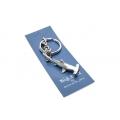 Big Blue Key Chain - Hammer Head Shark