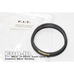 F.I.T. Nikkor AF-S DX 17-55mm f/2.8G Zoom Gear for Sea&Sea Nikon