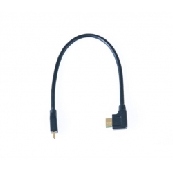 Nauticam HDMI (D-C) cable in 240mm length (for connection from HDMI bulkhead to camera)